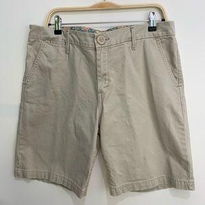 Levi's 14 khaki shorts